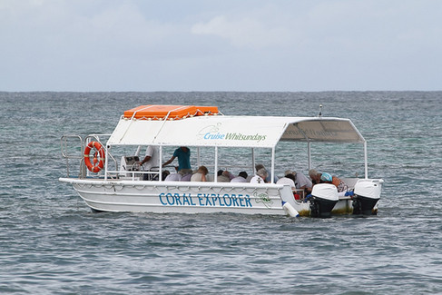 Glass bottomed boat