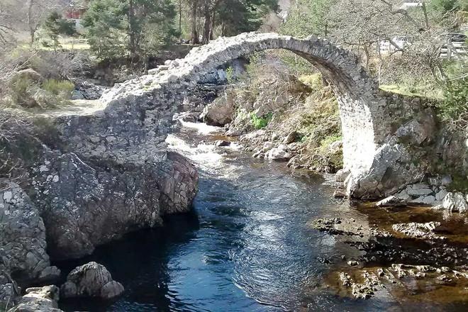 Scottish footbridge