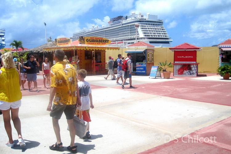 St Maarten port area
