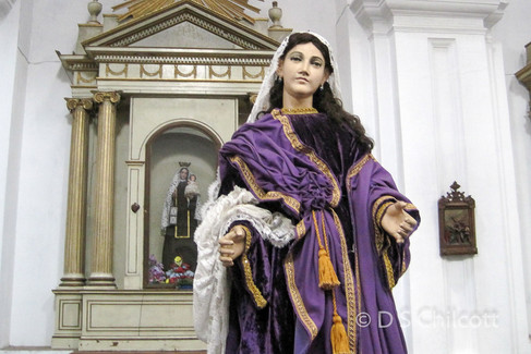 Figurine in church