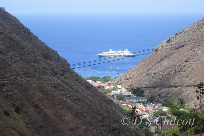 View from St Helena