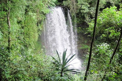 Montagne De'Ambre waterfall