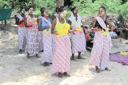 Nosy Komba villagers