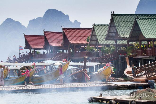 Thailand floating village