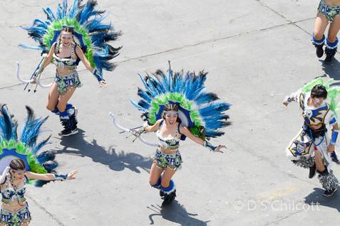 Arica dancers