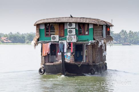 Cochin houseboat