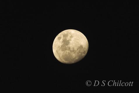 St Helena moon