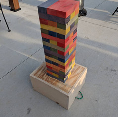Jenga Raindow