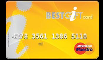 CARTÃO DE PREMIAÇÃO BEST GIFT CARD