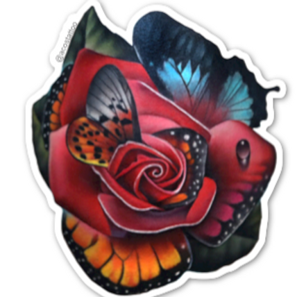 Butterfly Rose Morph