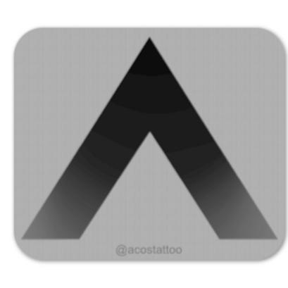 Acostattoo Logo (Pack of 2)