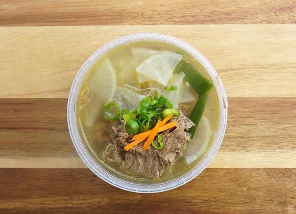 Beef & radish soup - 소고기무국 (500ml, 1-2 portions)