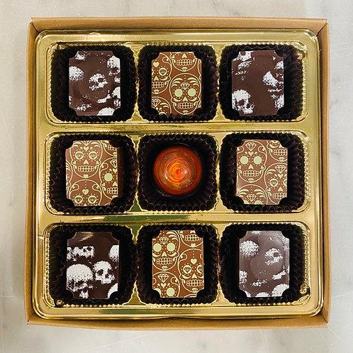 9 Piece Halloween Small Batch Chocolate Box