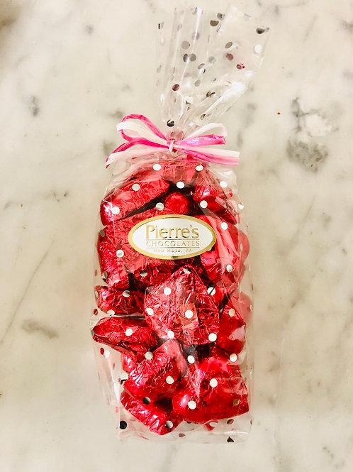 House Milk Chocolate Heart Foils