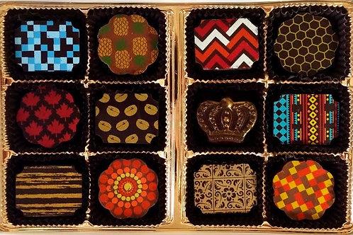 12 Piece Small Batch Chocolate Assortment