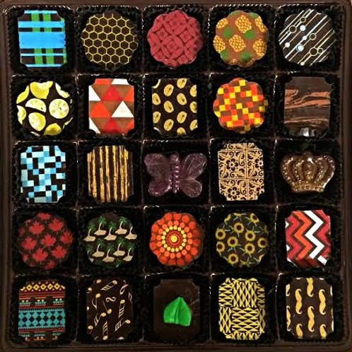 Small Batch Chocolate Assortment - 25 Piece