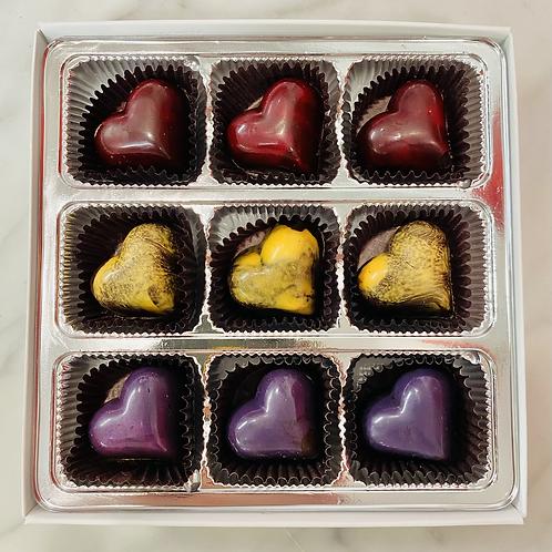 Valentine's Heart Collection - 9 Piece