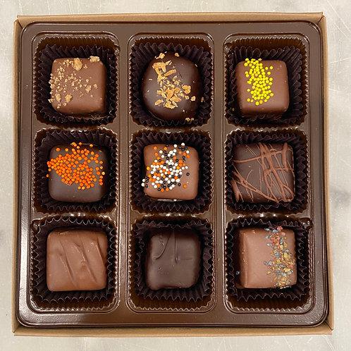9 Piece Fall Assorted Chocolate Box