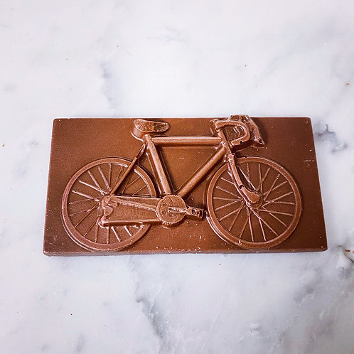Solid Chocolate Bicycle