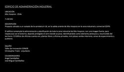 EDIFICIO ADM. ZONA INDUSTRIAL