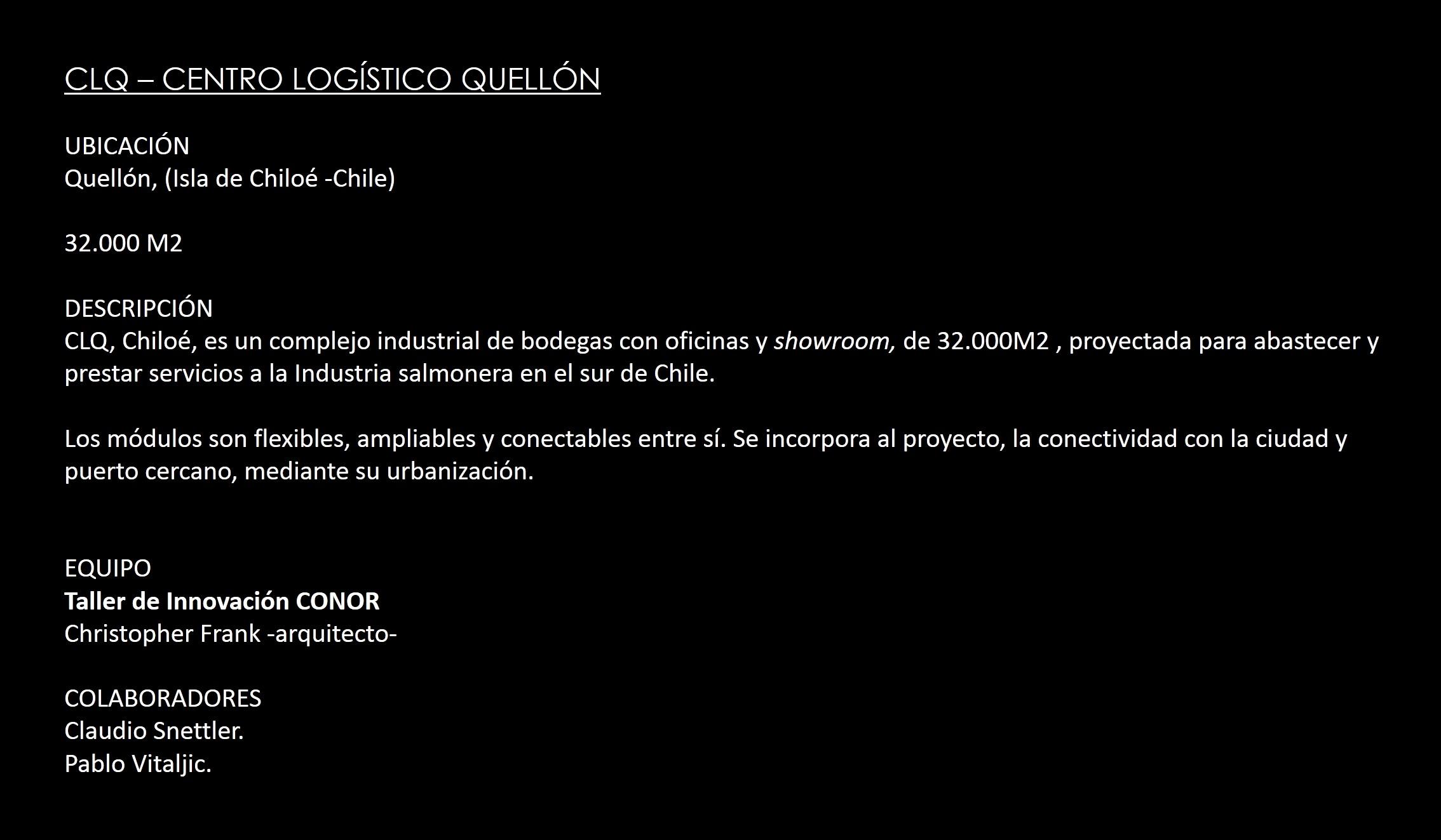 CENTRO LOGÍSTICO QUELLÓN