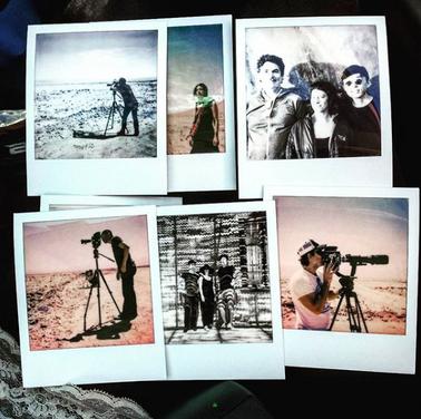 Polaroid Oona Mosna, Daichi Saito, John