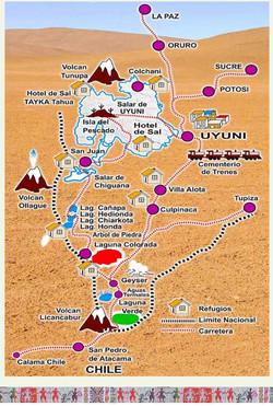 UYUNI Map