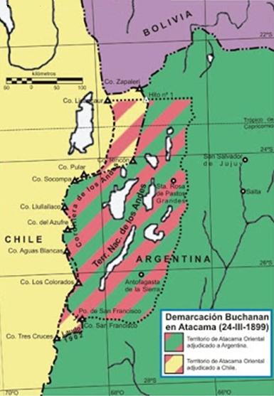 Atacama Map