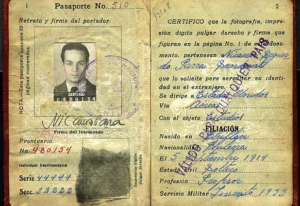 Nicanor Parra Passport
