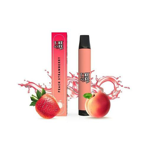 Take Off Max   Peach Strawberry   ~2500 Puff
