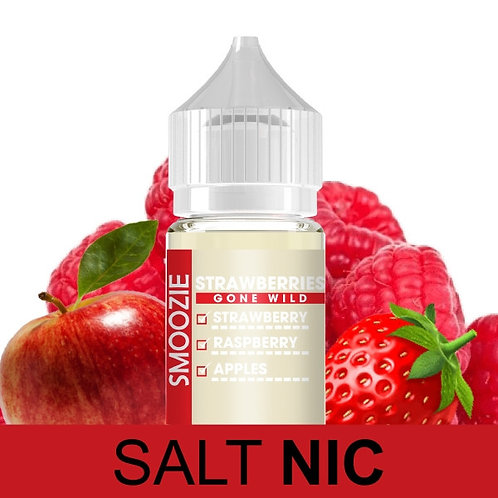 Smoozie | Strawberries Gone Wild | 30ml | Salt 50mg