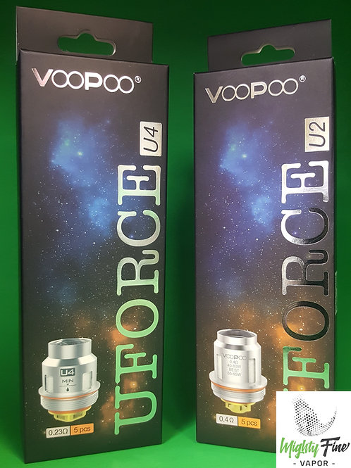 VooPoo U-Force Coils 5-Pack