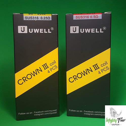 Uwell Crown III Coil Pack | 4-Pack