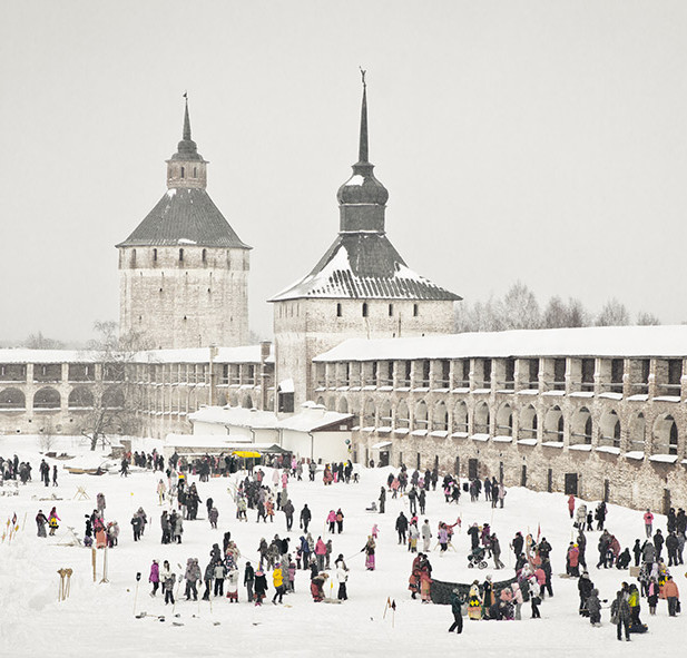 Масленица  Кирилло-Белозерском монастыре