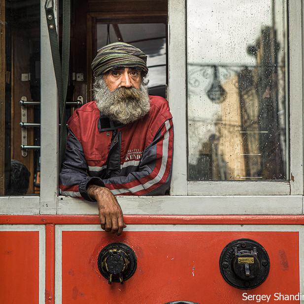 Пассажир трамвая