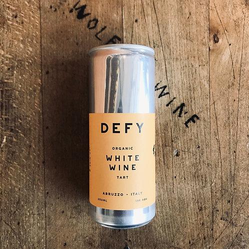 DEFY Organic White Wine Can