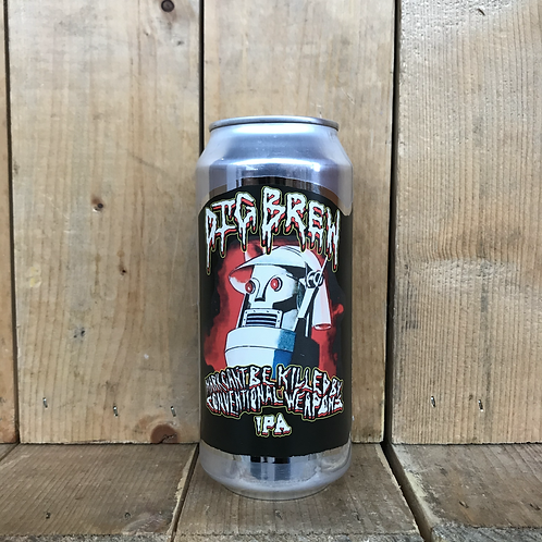 Dig Brew Co. Mark Can't Be Killed By Conventional Weapons IPA