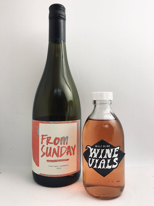 From Sunday Pinot Gris Wolf Vial #29
