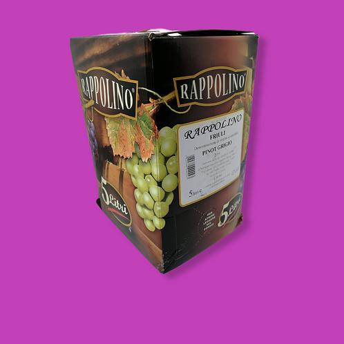 Pinot Grigio 5Ltr Bag in Box