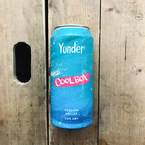 Yonder Brewing Cool Box Session Helles