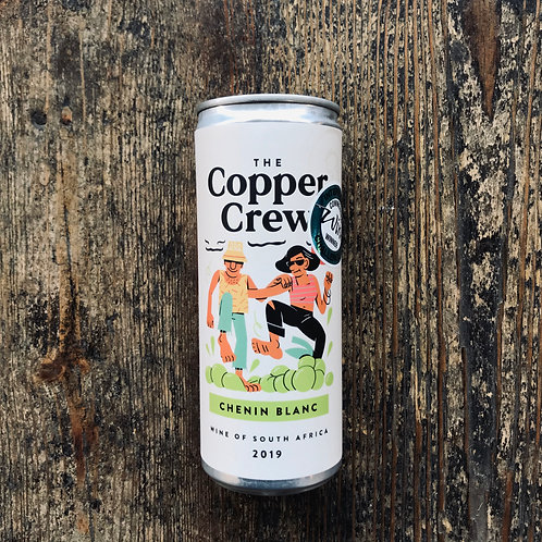 The Copper Crew Canned Chenin Blanc