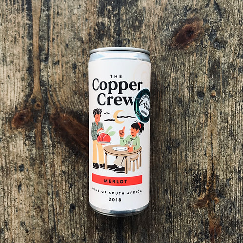 The Copper Crew Canned Merlot