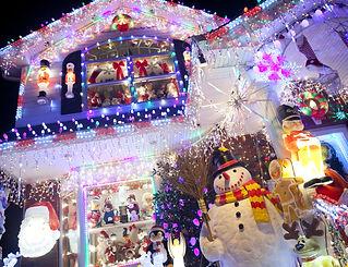 Christmas decoration at Christmas and ho
