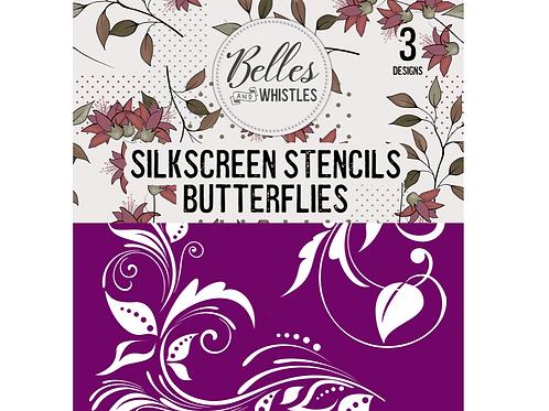Silkscreen Stencil Butterflies