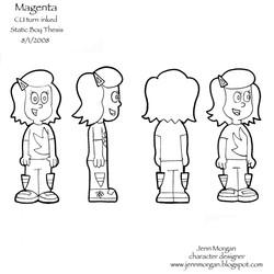 Magenta Turn around