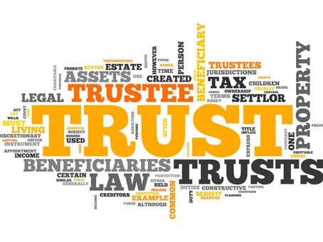 Being a Trustee of a Trust is a big responsibility!