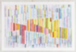 Johanna Boccardo abstract painting on paper. Miami artist.