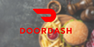 DOOR DASH FAUX REAL BURGER