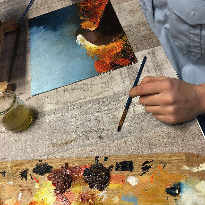 Peinture/dessin ado