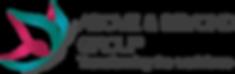 A and B Transparent Logo Transforming th